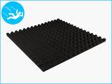 RubbertegelXL - Rubberen Speelplaatstegel - 100x100x5 cm Zwart - Onderkant