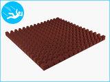 RubbertegelXL - Rubberen Speelplaatstegel - 100x100x6,5 cm Rood - Onderkant