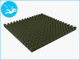 RubbertegelXL - Rubberen Speelplaatstegel - 100x100x6,5 cm Groen - Onderkant
