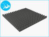RubbertegelXL - Rubberen Speelplaatstegel - 100x100x6,5 cm Grijs - Onderkant
