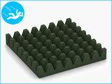 RubbertegelXL - Rubberen Speelplaatstegel - 50x50x6,5 cm Groen - Onderkant