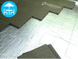 RubbertegelXL - Rubberen Terrastegel - 50x50x3 cm Groen - met Pen/Gatverbinding - Voorbeeld