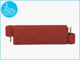 RubbertegelXL - Rubberen Zandbakprofiel - 100x30x15 cm Rood